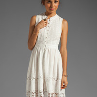 MM Couture by Miss Me Sleeveless Lace Dress in White from REVOLVEclothing.com