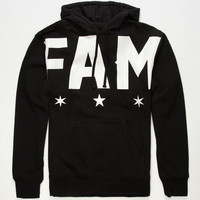 Famous Stars & Straps Let Em Know Mens Hoodie Black  In Sizes