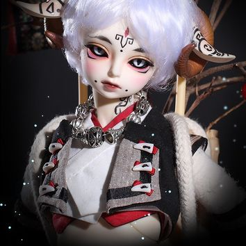 (Ancient Legends) BaiLing Dark, 45cm Limited Loong Soul Doll Boy - BJD Dolls, Accessories - Alice's Collections