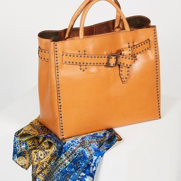 Free People Valeriana Studded Tote