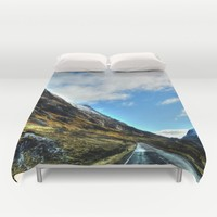 Road Duvet Cover by Haroulita | Society6