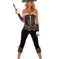Rouge Pirate With Pants Costume | Sexy Clothes Womens Sexy Dresses Sexy Clubwear Sexy Swimwear | Flirt Catalog