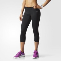 adidas Performer Low-Rise Three-Quarter Tights - Black | adidas US