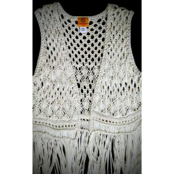 Ruby Rd crocheted top - size extra large #