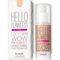 hello flawless! oxygen wow liquid foundation | Benefit Cosmetics