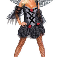 women's costume: spoiled fairy | large