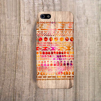 FALL iPhone Case, iPhone Case Wood Print, AZTEC iPhone Case, Tribal iPhone Case, AZTEC iPhone 4 Case iPhone Case Wood Print Boho iPhone Case