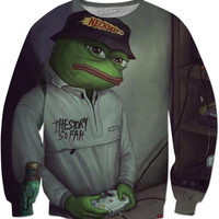 Pepe Le Frog The Story So Far Neck Deep Sweat Shirt