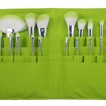 SET 751 - LIMITED EDITION LIME BELT BRUSH SET **NEW**