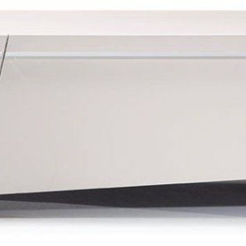 Modrest TV048 - Modern Glossy Light Grey TV Unit