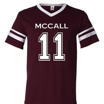 10% OFF Teen Wolf Beacon Hills Lacrosse McCall 11 Unisex  Jersey