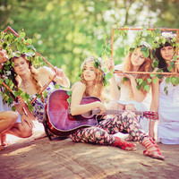 beautiful, boho chic, fairies, fashion, flowers - inspiring picture on Favim.com
