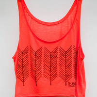 Camp Brand — ARROW TAILS CROP TANK