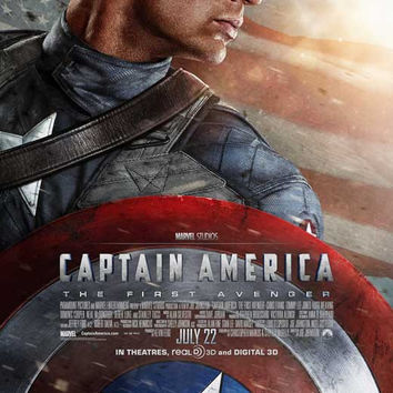 Captain America: The First Avenger 27x40 Movie Poster (2011)
