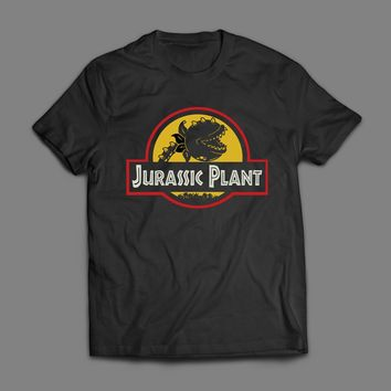 LITTLE SHOP OF HORRORS JURASSIC PLANT MOVIE T-SHIRT