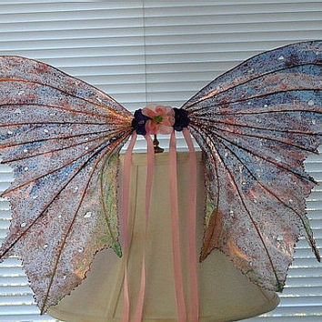 Fairy Wings-Iridescent-Purple & Pink Passion Adults and Children Sized (Made to Order by Request)