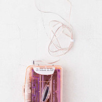 Clear Cassette Player | Urban Outfitters