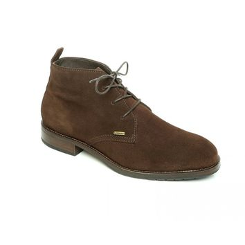 Waterville Three Eye Leather Chukka in Cigar by Dubarry