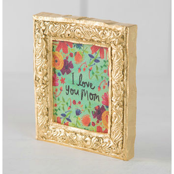 Natural Life Keepsake - Love You Mom