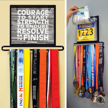 BibFOLIO Plus Race Bib and Medal Display | GoneForaRun.com