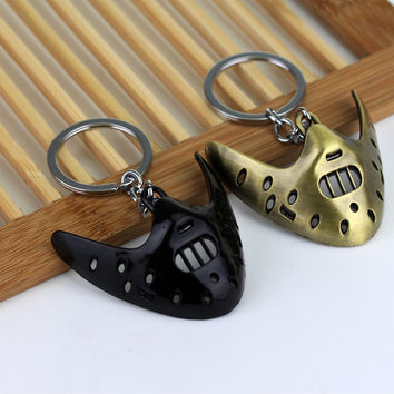 """""""The Silence of the Lambs"""" Hannibal Lecter Keychain"""