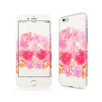 Life Is Beautiful iPhone 6/6 Plus Skin