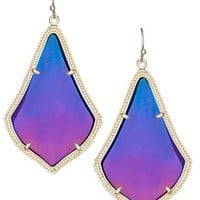 Alexandra Earrings in Black Iridescent - Kendra Scott Jewelry
