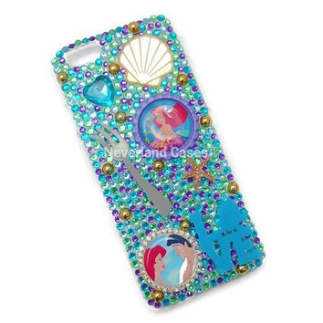 Little Mermaid iPhone 6 Case Ariel iPhone 6/6s Case Bling Case The Little Mermaid Phone Case