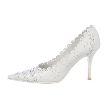 Christian Dior Scalloped Pumps