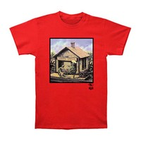Grateful Dead Men's  Terrapin Station T-shirt Red