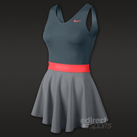 Nike Heathered V-Neck Womens Dress by directbadminton