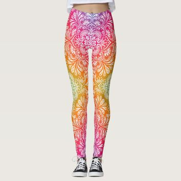 Bright Color Leggings