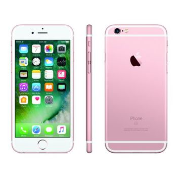 Straight Talk Apple iPhone 6s 32GB Prepaid Smartphone, Rose Gold - Walmart.com