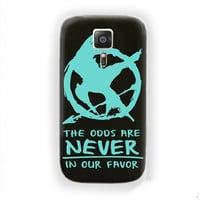 Catching Fire The Hunger Games For Samsung Galaxy S6 Edge Case