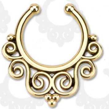 Faux Septum Piercing Ring