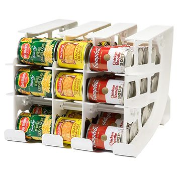 FIFO 54-can Food Storage Can Tracker | Overstock.com Shopping - The Best Deals on Shelving
