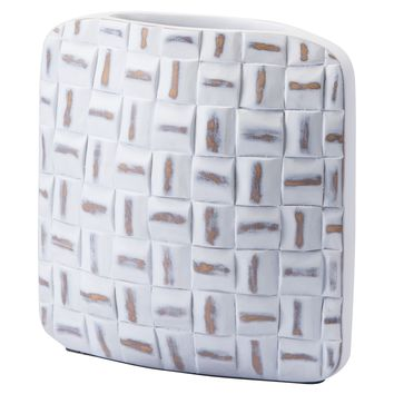 Mosaic Square Vase Small