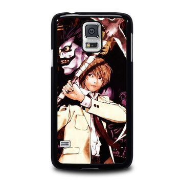 death note ryuk and light samsung galaxy s5 case cover  number 2