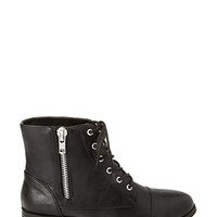 FOREVER 21 Zippered Faux Leather Booties