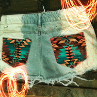 Vintage Renewed Cutoffs: Size M