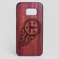 Tennessee Titans Galaxy S7 Edge Case - All Wood Everything