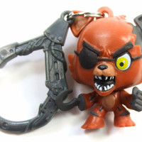 FIVE NIGHTS AT FREDDY'S Collector Clip FOXY Figure Keychain Hanger Blind Bag