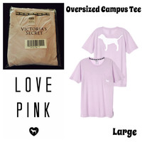Nwt VS pink Campus Tee