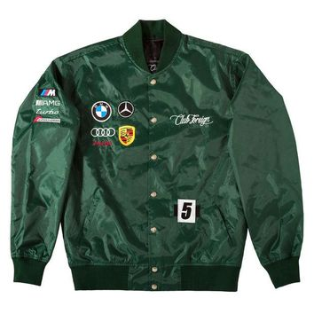 ONETOW Club Foreign German Race Jacket In Green