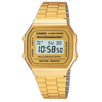 Casio Retro Gold-Tone Digital Watch
