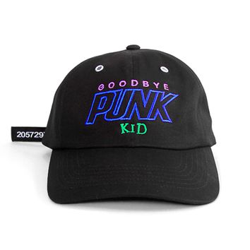 GOODBYE PUNK KID CAP black