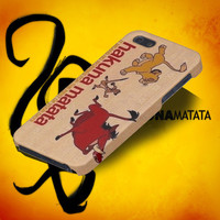 IPhone5 IPhone4 IPhone4S Case - lion king draw all-round case