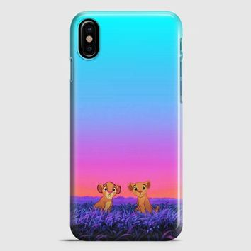 The Lion King Son iPhone X Case