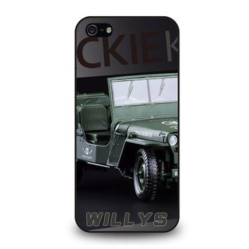 JEEP WILLYS TRUCK iPhone 5 / 5S / SE Case