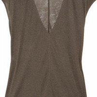 The Row | Festly modal and silk-blend top | NET-A-PORTER.COM
